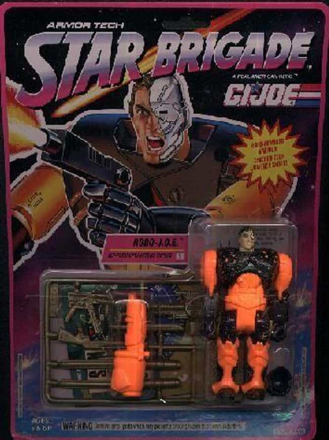 Robo-Joe is listed (or ranked) 1 on the list 22 G.I. Joe Action Figures You Wouldn't Want in Your Platoon