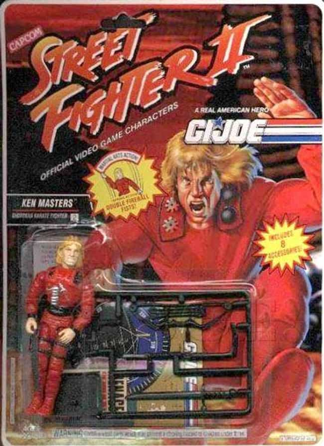 Ken Masters is listed (or ranked) 4 on the list 22 G.I. Joe Action Figures You Wouldn't Want in Your Platoon