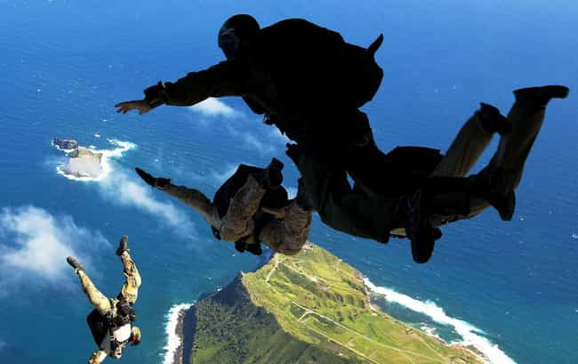 Navy SEAL Training is listed (or ranked) 2 on the list All US Military Training Programs, Ranked by Difficulty
