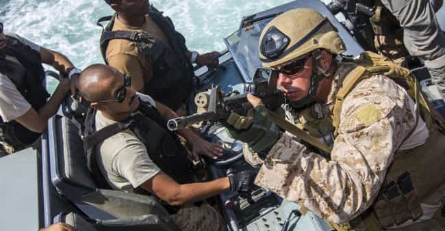 Force RECON Progam is listed (or ranked) 5 on the list All US Military Training Programs, Ranked by Difficulty