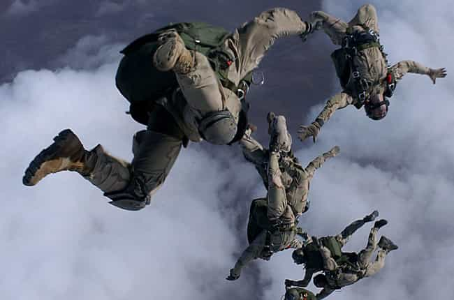 Air Force Pararescue Tra... is listed (or ranked) 7 on the list All US Military Training Programs, Ranked by Difficulty