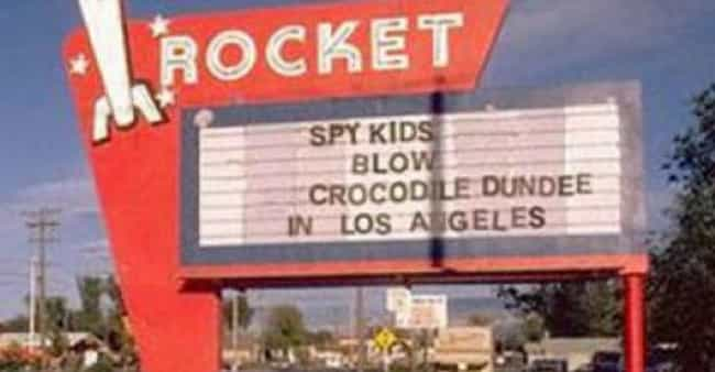 When The Spy Kids Became Adult... is listed (or ranked) 3 on the list 22 Hilarious Movie Marquee Fails