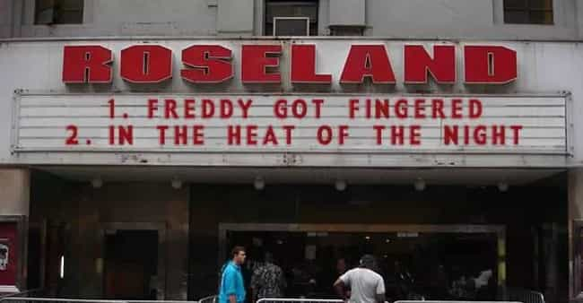 The Passionate, Humid Summer E... is listed (or ranked) 4 on the list 22 Hilarious Movie Marquee Fails