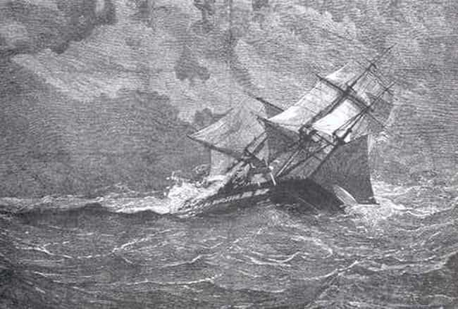 The HMS Eurydice is listed (or ranked) 3 on the list Creepiest Ghost Stories from the Sea