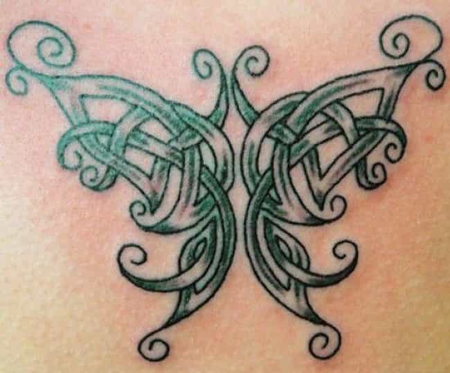 The Celtic Butterfly is listed (or ranked) 4 on the list Common Irish Tattoos: What Do They Mean?