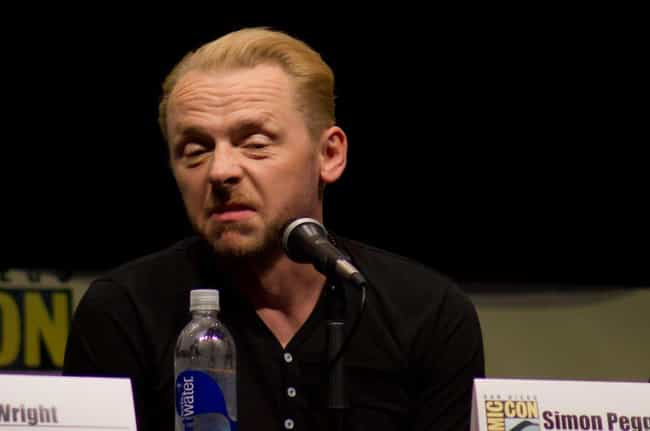 Simon Pegg Really Embarr... is listed (or ranked) 3 on the list Very Awkward & True Stories of Things That Happened on Set