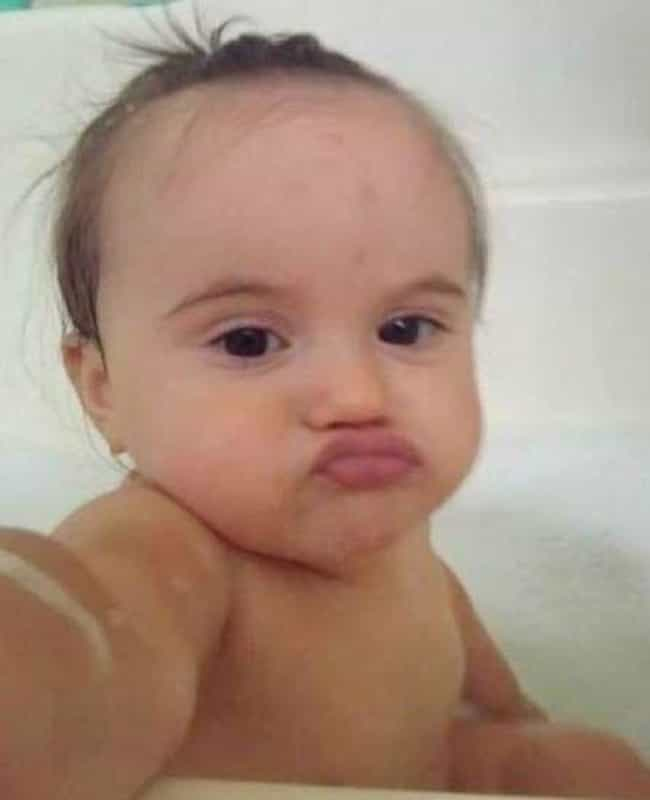 The Bath Life Chose Me is listed (or ranked) 3 on the list The Greatest Baby Selfies Ever