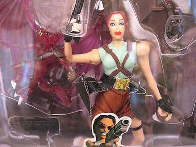 Lara Croft (Toy Biz) is listed (or ranked) 1 on the list The Most Ridiculous '90s Boys Toy Lines