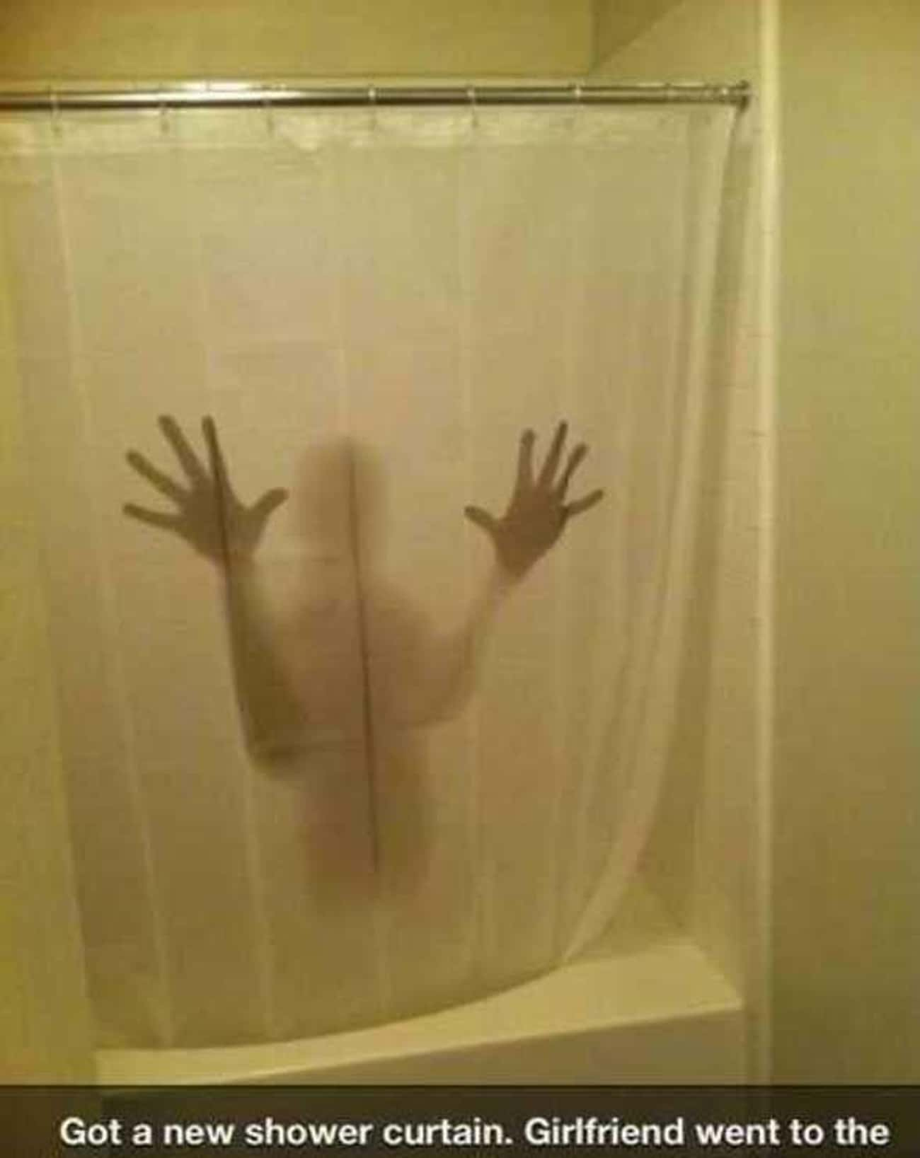 The Shower Curtain Made of Nig is listed (or ranked) 1 on the list 25 Very Clever Shower Curtains That Will Make You Smile