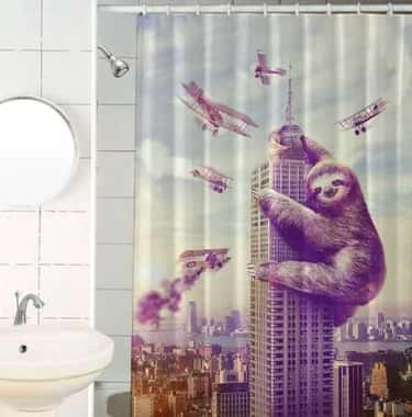 King Kong Ain't Got Nothin is listed (or ranked) 5 on the list 25 Very Clever Shower Curtains That Will Make You Smile