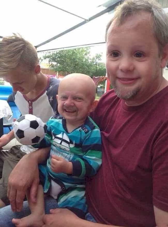 A Big Soccer Fan is listed (or ranked) 4 on the list These Parent/Kid Face Swaps Will Give You Nightmares