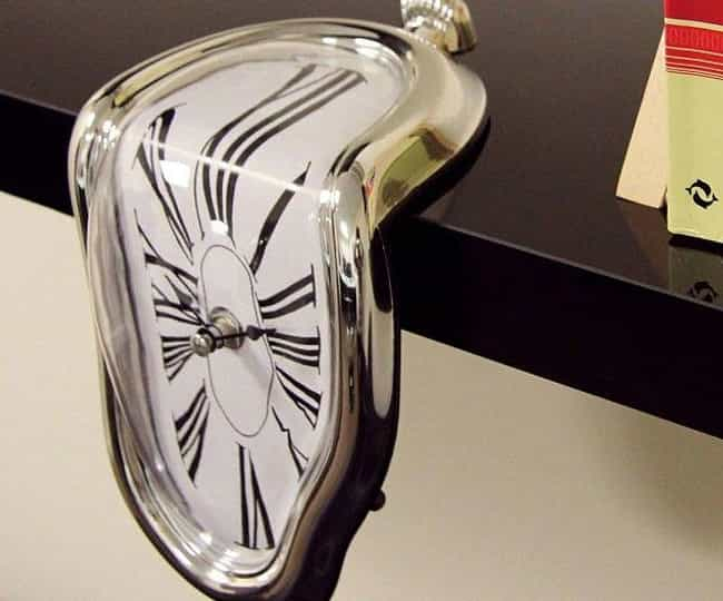 The Giantass Salvador Dali&#39... is listed (or ranked) 3 on the list 29 Funny Clocks That Are Set to LOL O'Clock
