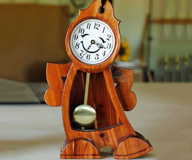 This Beauty and the Beast Cloc... is listed (or ranked) 2 on the list 29 Funny Clocks That Are Set to LOL O'Clock