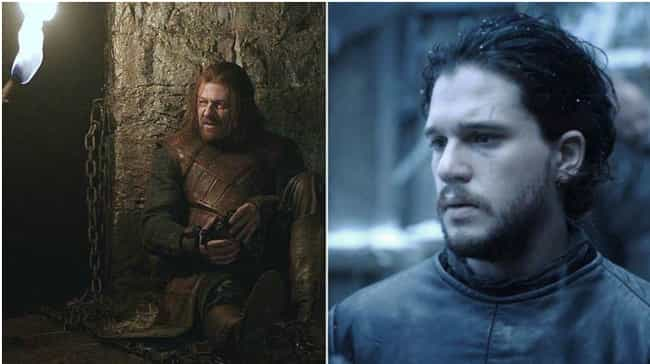 Neither Is Afraid of Death is listed (or ranked) 4 on the list All the Ways Jon Snow Is Becoming Ned Stark