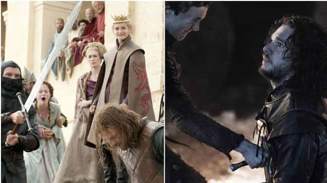 They Were Both Killed Trying t... is listed (or ranked) 1 on the list All the Ways Jon Snow Is Becoming Ned Stark