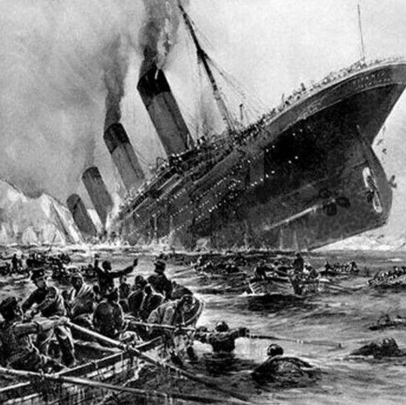 Titanic: Hit An Iceberg is listed (or ranked) 2 on the list The Worst Cruise Ship Disasters