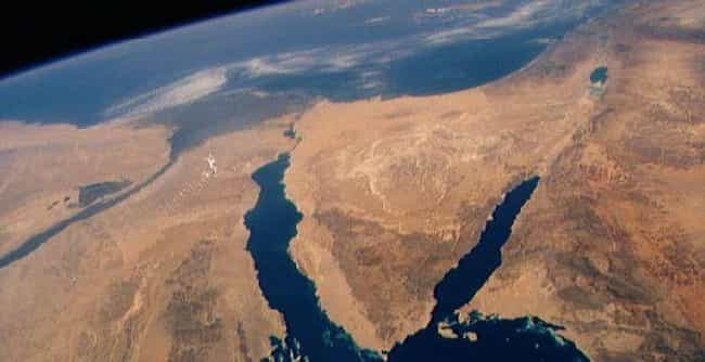 The Sinai Peninsula is listed (or ranked) 2 on the list Land Bridges That Completely Changed the World