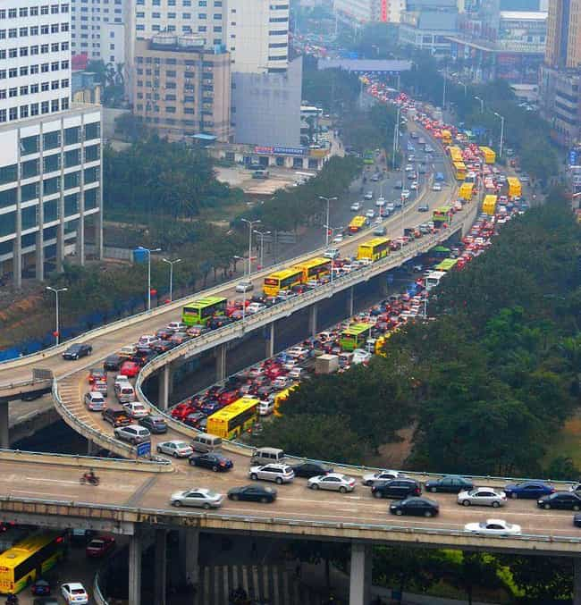 A Lot of Congestion Is C... is listed (or ranked) 2 on the list Surprising Facts You Didn't Know About Traffic