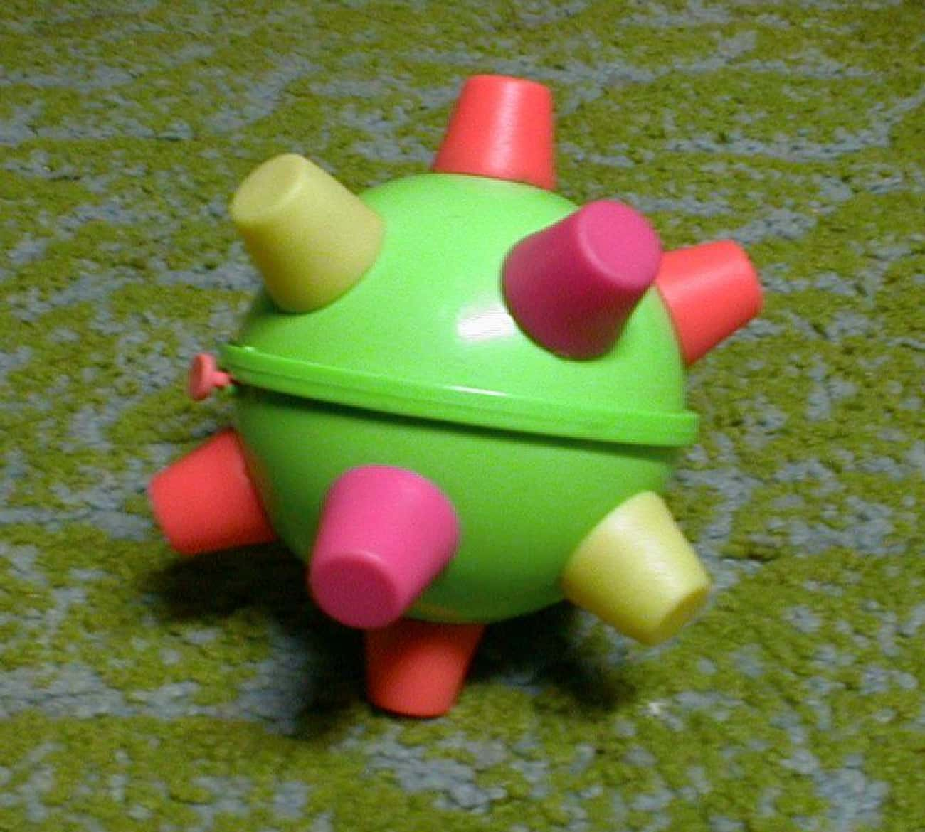Bumble Ball is listed (or ranked) 3 on the list '90s Toys All Girls Had That Were Actually Ridiculously Dumb