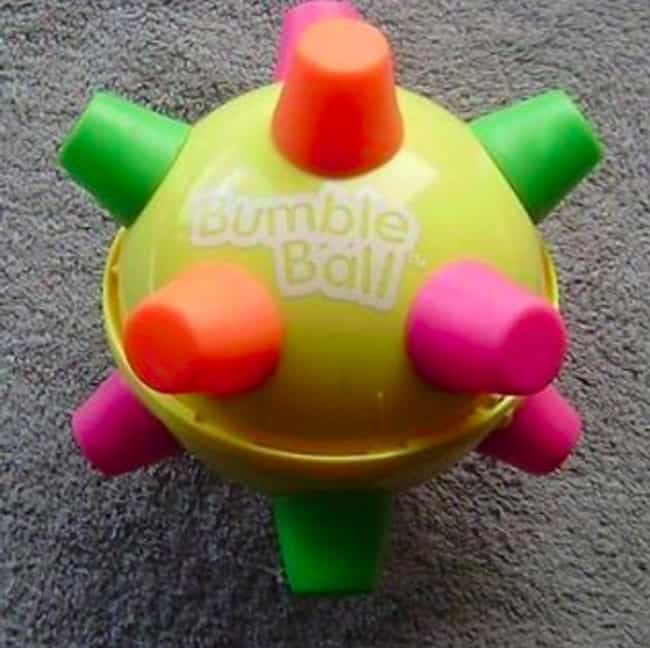 Bumble Ball is listed (or ranked) 2 on the list '90s Toys All Girls Had That Were Actually Ridiculously Dumb