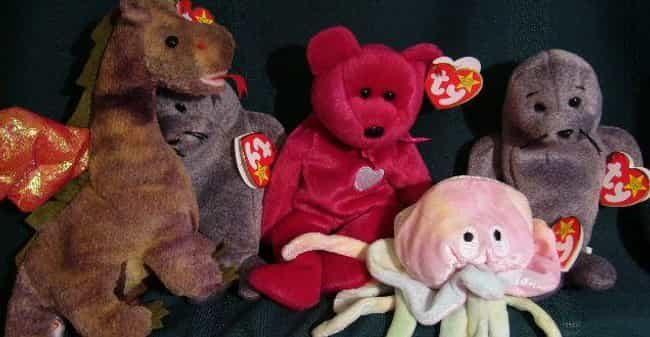 Beanie Babies is listed (or ranked) 4 on the list '90s Toys All Girls Had That Were Actually Ridiculously Dumb