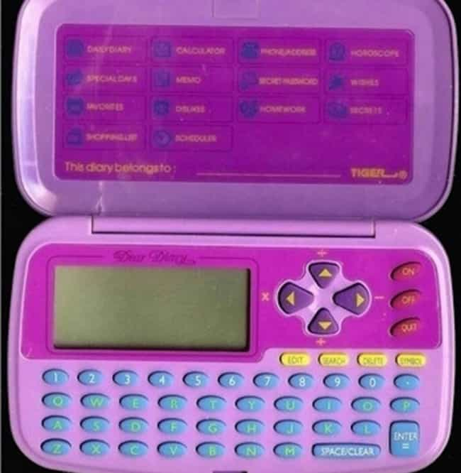 Talkback Dear Diary is listed (or ranked) 3 on the list '90s Toys All Girls Had That Were Actually Ridiculously Dumb