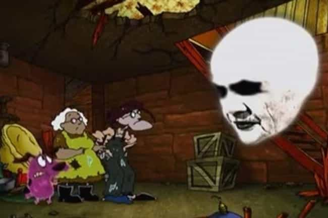 Floating Head Guy is listed (or ranked) 4 on the list The Most Horrifying Things on Courage the Cowardly Dog