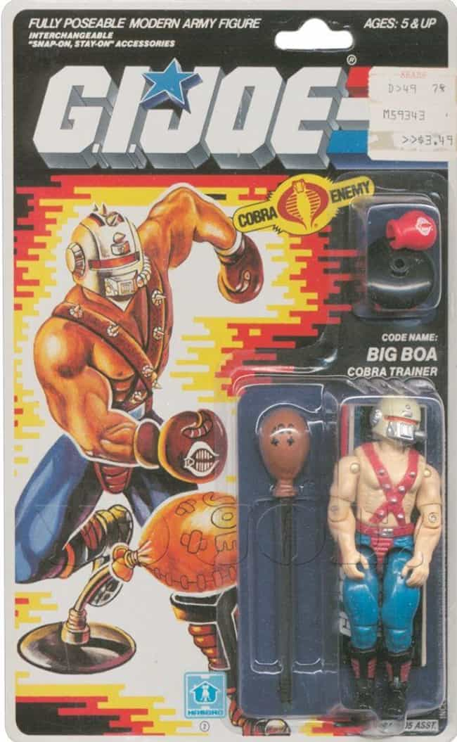 Big Boa Is Listed Or Ranked 2 On The List 22 Cobra Action Figures