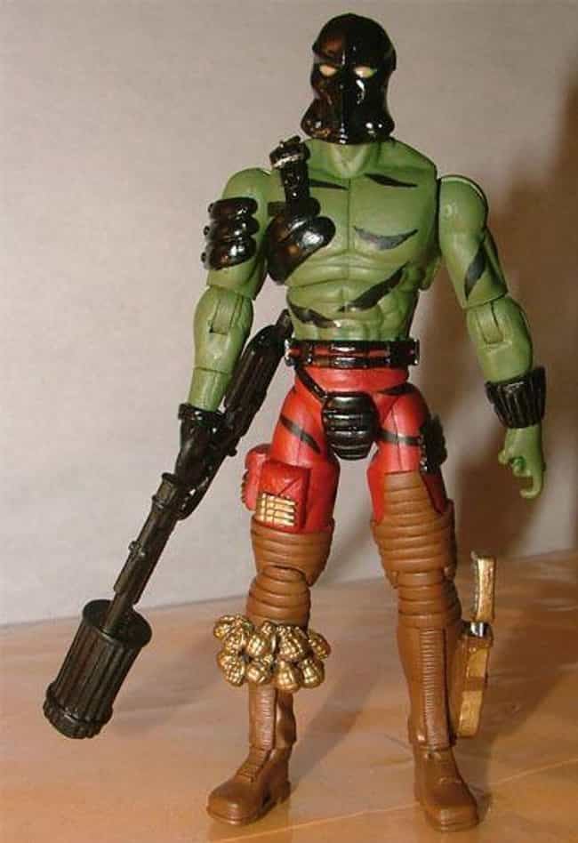 Darklon is listed (or ranked) 4 on the list 22 Cobra Action Figures So Bad They Disgraced the Whole Organization