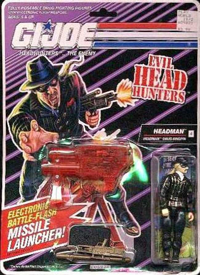 Headman is listed (or ranked) 6 on the list 22 Cobra Action Figures So Bad They Disgraced the Whole Organization