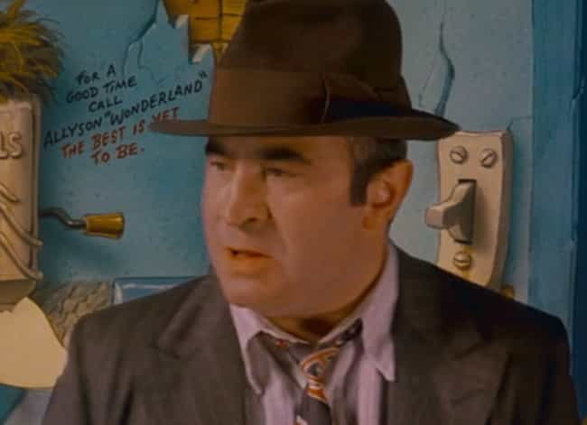 The Writing on the Wall is listed (or ranked) 3 on the list Adult Jokes from Who Framed Roger Rabbit You Missed as a Kid