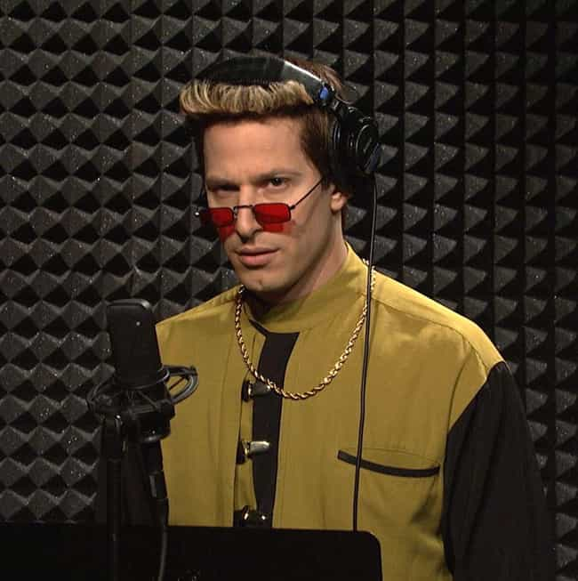 Blizzard Man is listed (or ranked) 2 on the list All of Andy Samberg's SNL Characters, Ranked