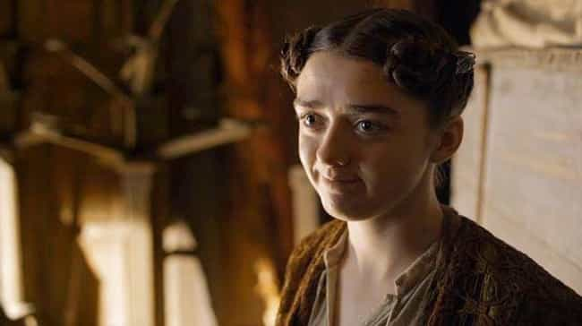 Arya's Acting Advice to Lady C... is listed (or ranked) 3 on the list 'Game Of Thrones' Scenes You Should've Paid More Attention To