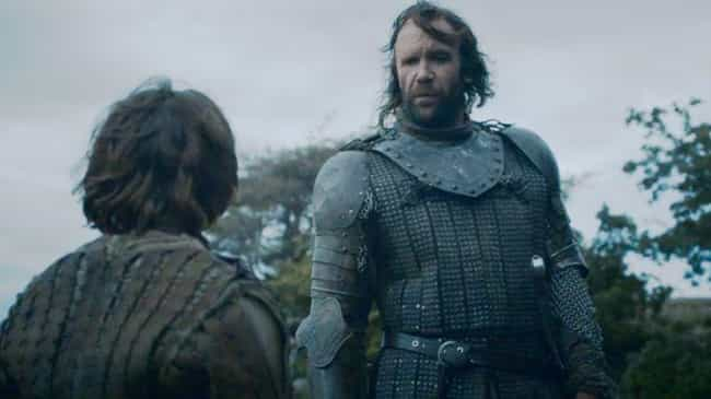 The Hound's Foreshadows Meryn ... is listed (or ranked) 1 on the list 'Game Of Thrones' Scenes You Should've Paid More Attention To