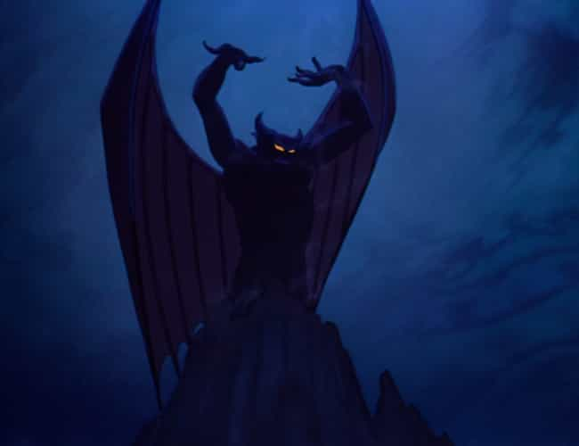 Chernabog (Who Is Basically Sa... is listed (or ranked) 4 on the list The Scariest Scenes from Classic Disney Movies
