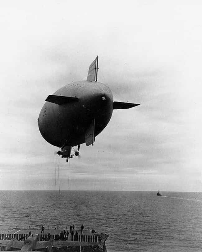 The Mystery Of The L-8 Blimp is listed (or ranked) 3 on the list The Creepiest Ghost Stories And Legends From WWII