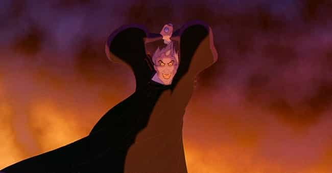Claude Frollo's Face in &#... is listed (or ranked) 2 on the list The Scariest Scenes from Classic Disney Movies