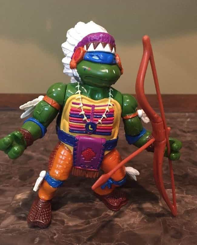 Chief Leo is listed (or ranked) 8 on the list The Most Ridiculous WTF Teenage Mutant Ninja Turtle Toys