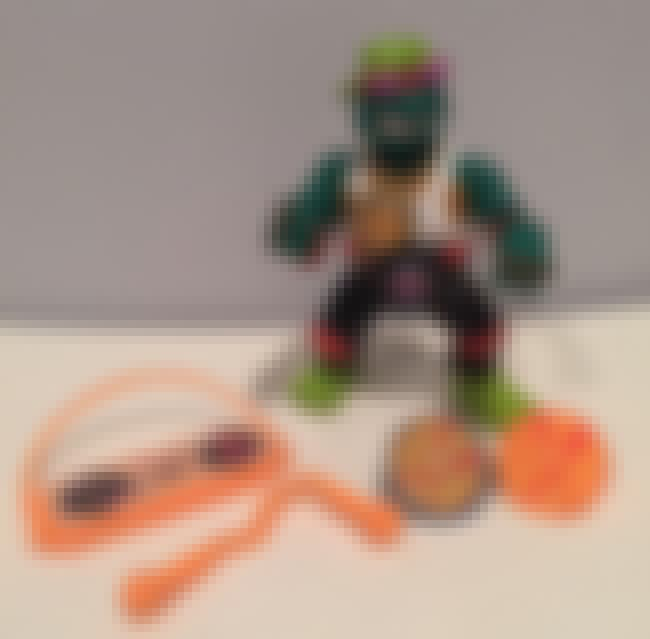 Rappin' Mike is listed (or ranked) 1 on the list The Most Ridiculous WTF Teenage Mutant Ninja Turtle Toys