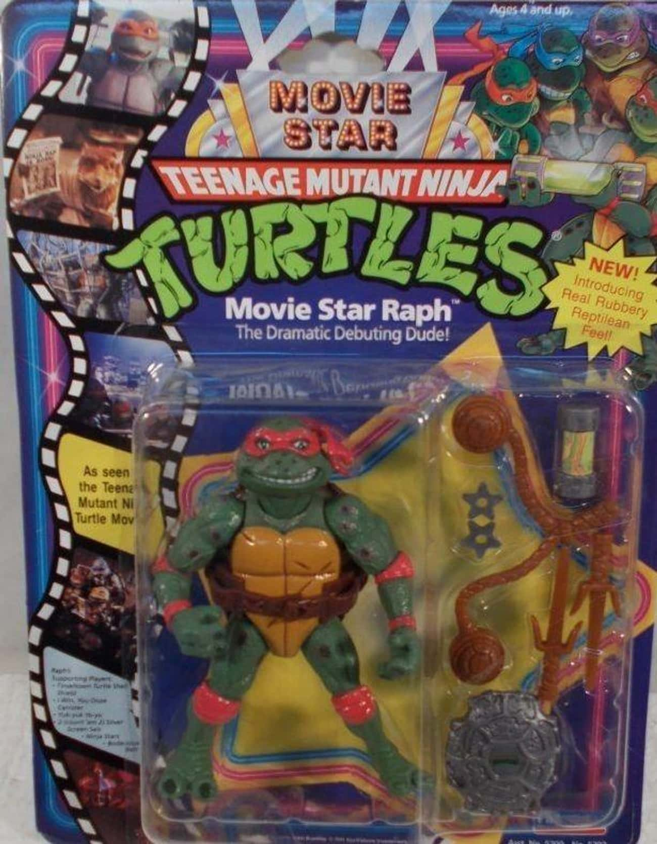 Movie Star Turtles is listed (or ranked) 3 on the list The Most Ridiculous WTF Teenage Mutant Ninja Turtle Toys