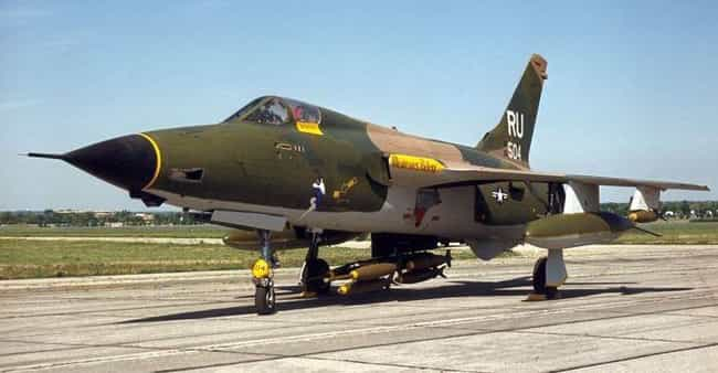A Single F-105 vs. ALL of Nort... is listed (or ranked) 4 on the list The Most Epic Things the United States Air Force Has Ever Done