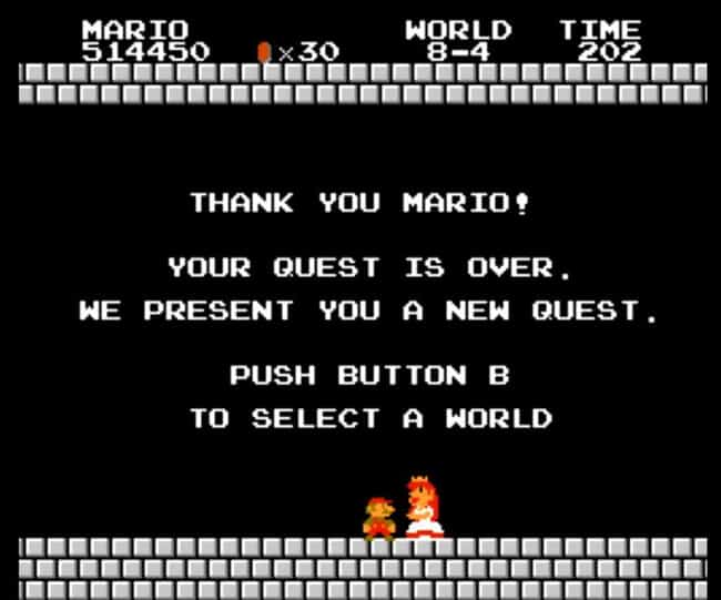 Peach Was Only Legitimat... is listed (or ranked) 3 on the list The Most Elaborate and Weirdly Plausible Super Mario Fan Theories