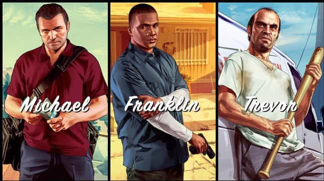 The Three Characters in GTA V ... is listed (or ranked) 2 on the list Grand Theft Auto Fan Theories That'll Blow Your Mind