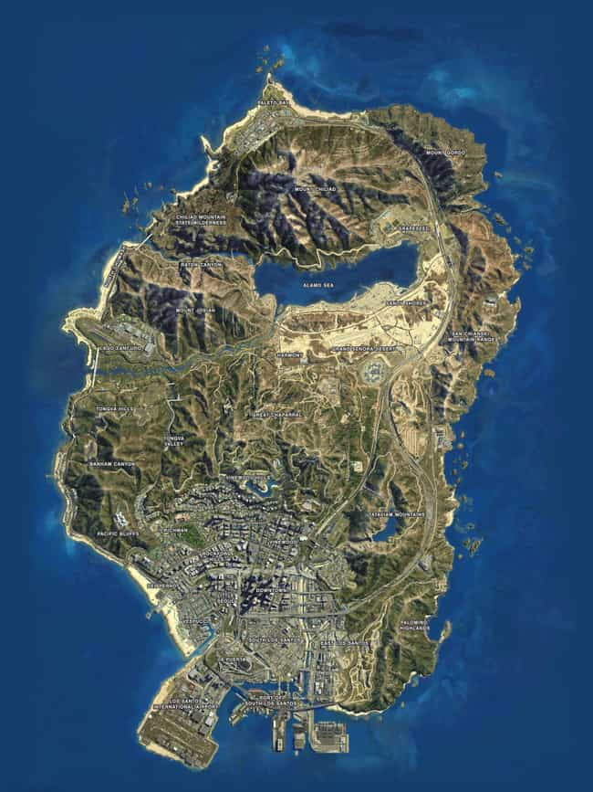 The Islands In GTA Are A... is listed (or ranked) 2 on the list Grand Theft Auto Fan Theories That'll Blow Your Mind