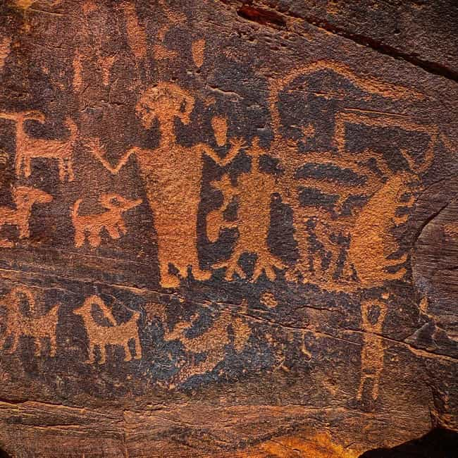 Whoever Destroyed Pictographs ... is listed (or ranked) 1 on the list The Worst Wilderness Vandals Ever