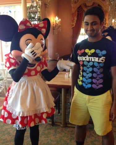 The Unhappiest Place on Earth is listed (or ranked) 6 on the list 25 People Who Were Wearing the Right Shirt at the Right Time