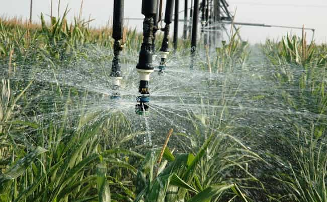 Irrigation is listed (or ranked) 3 on the list The Most Historically Important Food Innovations