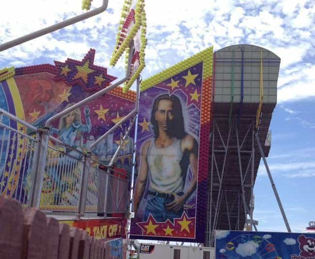 Con Air Nicolas Cage Is Watchi... is listed (or ranked) 3 on the list Meanwhile at the County Fair . . .