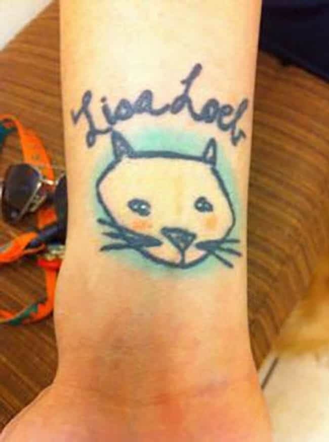 The Most Popular Tattoo ... is listed (or ranked) 8 on the list The Most Terrible Tattoos of One Hit Wonder Bands