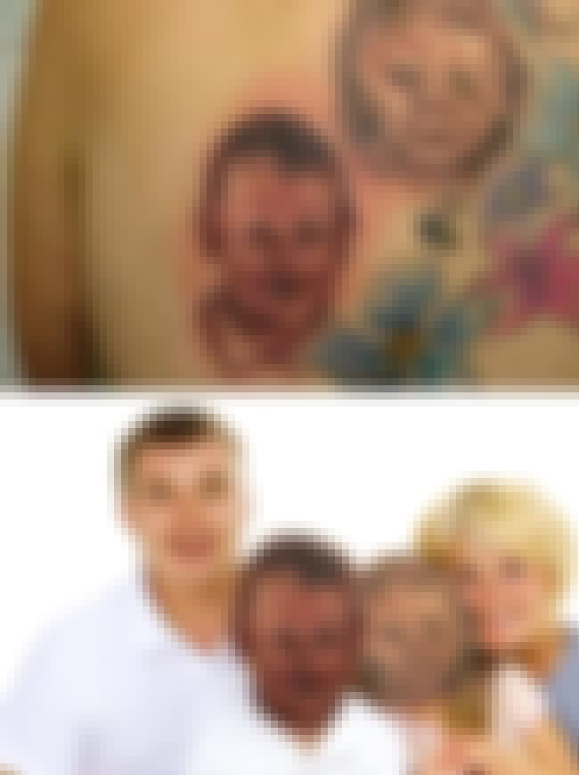 Talk About an Awkward Family P... is listed (or ranked) 3 on the list People Who Face Swapped with Face Tattoos